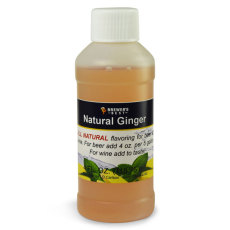 Ginger Natural Flavoring, 4 fl oz.