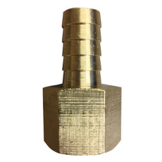 "1/2"" FPT x 1/2"" Barb - Brass"