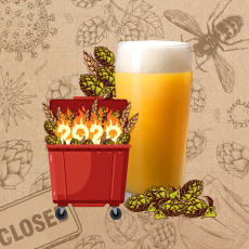 Dumpster Fire Hazy DIPA Extract Beer Kit