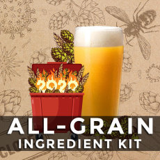 Dumpster Fire Hazy DIPA All Grain Beer Kit