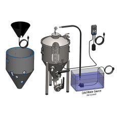 Spike Brewing TC-100 Temp Control Bundle for CF10 Conical Unitank with Heater