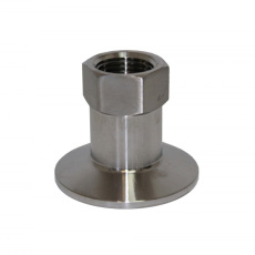 1.5 in. Tri-Clamp x 1/2 in. FPT