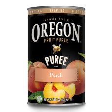 Peach Puree, 49 oz, Oregon Fruit Puree