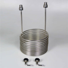 Stainless Steel Cooling Coil for 14 to 42 Gallon Fermenator by Blichmann Engineering