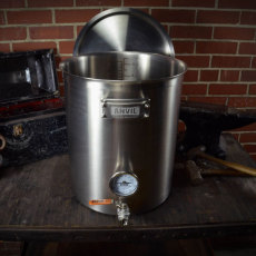 10 Gal Anvil Kettle Open