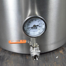 Anvil Brew Kettle Valve and Thermometer