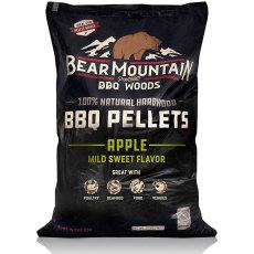 Bear Mountain BBQ All Natural Wood Pellets - Apple - 20lbs.