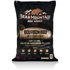Bear Mountain BBQ All Natural Wood Pellets - Bourbon Craft Blend - 20lbs.