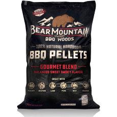 Bear Mountain BBQ All Natural Wood Pellets - Gourmet Craft Blend - 20lbs.