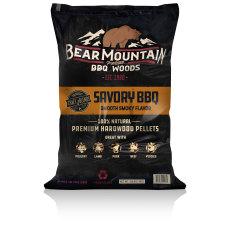 Bear Mountain BBQ All Natural Wood Pellets - Savory Craft Blend - 20lbs.