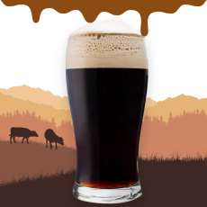Udderly Delicious Imperial Chocolate Milk Stout Extract Beer Recipe Kit