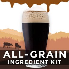 Udderly Delicious Imperial Chocolate Milk Stout All-Grain Beer Recipe Kit