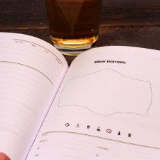 Brewer's Ledger Homebrew Notebook Brew Day