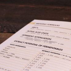 Brewer's Ledger Homebrew Notebook Formulas