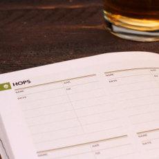 Brewer's Ledger Homebrew Notebook Hops
