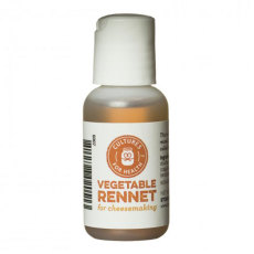 Organic Liquid Vegetable Rennet, 1 oz