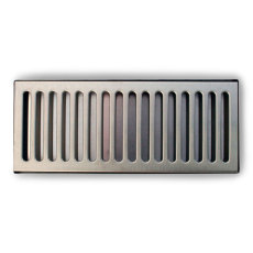 12 in. Stainless Steel Counter Mount Drip Tray_1