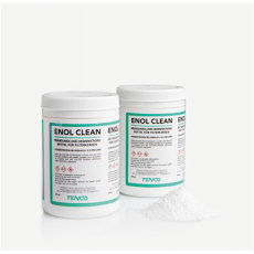 Enolclean Fiberglass Filter Cartridge Cleaner for Enolmatic/Enolmaster by TENCO - 250 Gram Bottle