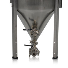 14 Gallon Blichmann Fermenator, Tri-Clamp Valves