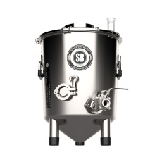 Spike Brewing Flex 7 Gallon Stainless Steel Fermenter with Ball Valve