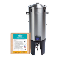 Grainfather Homebrew Conical Fermenter - Pro Edition with Basic Cooling Kit Package