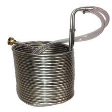Jumbo 50 ft. Stainless Steel Immersion Wort Chiller