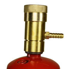 Oxygen Regulator for Disposable Oxygen Cylinder with Tank
