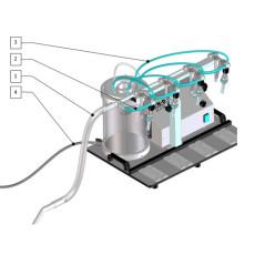 Enolmaster Bottle Filler Pharmapress Hose Replacement Kit for Spirits and Hot Fill Product