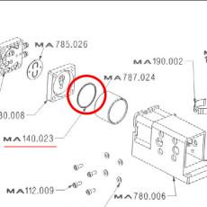 Enolmaster Replacement Vacuum Motor O-Ring / Gasket