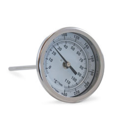 Brew Kettle Dial Thermometer - 6 in. Stem