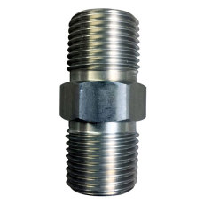"Hex Nipple - 1/2"" NPT Stainless, Blichmann Engineering"