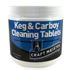 Keg and Carboy Cleaning Tabs
