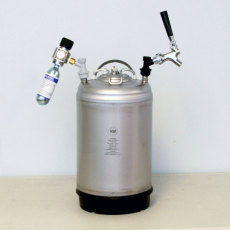 3 Gallon Turnkey Wine Kegging System
