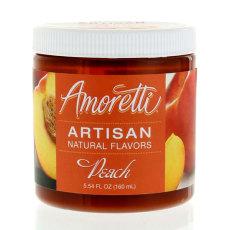 Amoretti Peach Artisan Natural Flavoring, 8 oz.