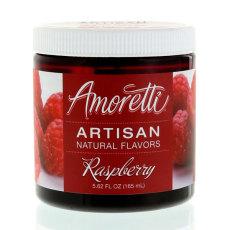 Amoretti Raspberry Artisan Natural Flavoring, 8 oz.