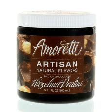 Amoretti Chocolate Hazelnut Praline Artisan Natural Flavoring, 8 oz.