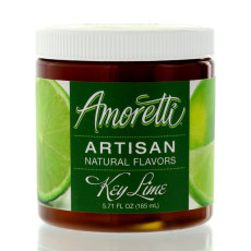 Amoretti Key Lime Artisan Natural Flavoring, 8 oz.