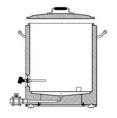 20 Gallon SS Brewtech InfuSsion Mash Tun_5