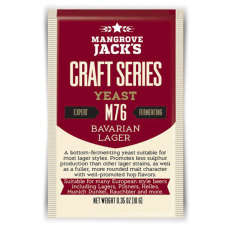 Mangrove Jack M76 Bavarian Lager Yeast