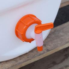 15.9 Gallon Speidel Plastic Fermenter with Valve