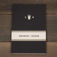 Brewer's Ledger Homebrew Notebook Black