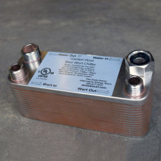 Duda Diesel Plate Chiller 30 Plate - Standard Fittings_1