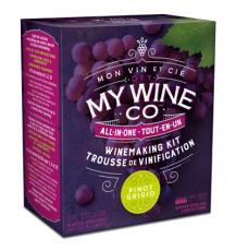 DIY My Wine Co Pinot Grigio 1 Gallon Bag in Box Wine Kit