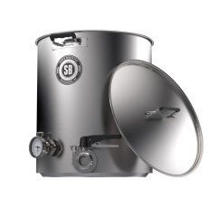 Spike+ 50 Gallon Brewing Kettle, 1.5 in. Tri-Clamp