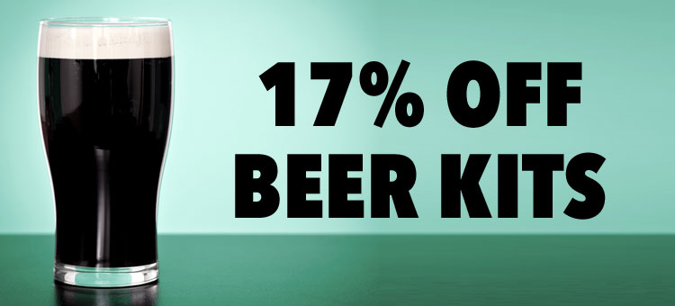 St Paddy's Day 17% OFF Beer Kits
