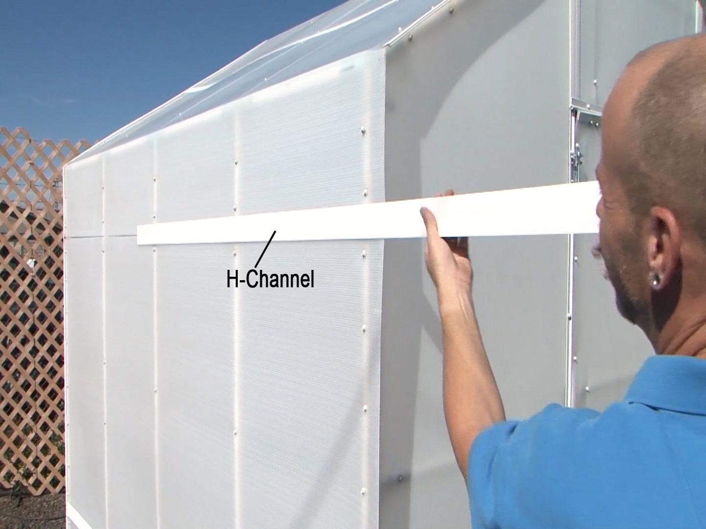 H-Channel joins Solexx Panels together