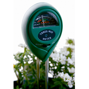 3 Way Meter: Moisture, Ph, Light