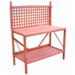 Foldable Wood Potting Bench