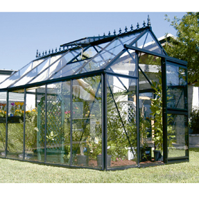 "7'9""x 12'6"" Junior Victorian Greenhouse"
