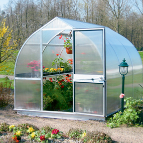 "Riga Garden Greenhouse Kit - 7'8"" x 7' x 6'11"""